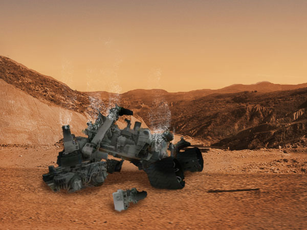 Curiosity Mars Rover Homepage - Pics about space