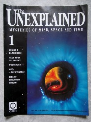 cover to issue 1 The Unexplained